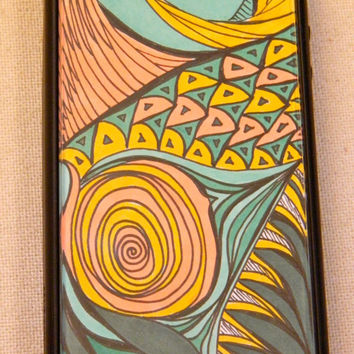Blushing Beauty iphone 4/4s cover case by TheGawkyGiraffe on Etsy
