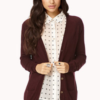 Refined Buttoned Cardigan