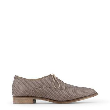 Arnaldo Toscani Brown Lace Up Leather Shoes