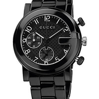 G-Chrono Collection Ceramic & Stainless Steel Watch