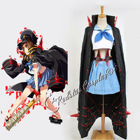 Full set Kill la Kill Mako Mankanshoku Cosplay Costume custom made in any size