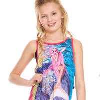 Girls Mermaid Racerback Tank