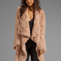Elizabeth and James Kimono Elijah Coat in Boudior Pink from REVOLVEclothing.com