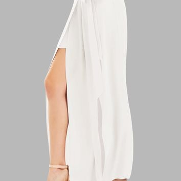 Women's High Slit Palazzo Pants