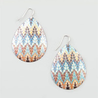 FULL TILT Shimmer Shell Earrings