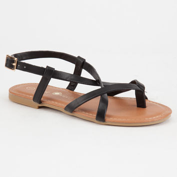 FREE REIGN Criss Cross Thong Girls Sandals | Sandals