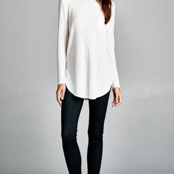 Anything Goes Sweater - Ivory
