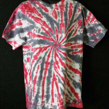 Hand Dyed 2 Color Tie Dye Shirt (Tide)  | Hanes or Gildan | Youth or Adult
