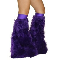 Purple Soft Fur Fluffies