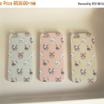 Cat Iphone Case for iPhone 4/4s, 5/5s, 5c,  & 6