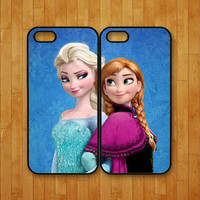 iphone 5S case,Elsa and Anna,Frozen,iphone 5C case,iphone 5 case,iphone 4 case,iphone 4S case,ipod 4 case,ipod 5 case,ipod case,iphone cover