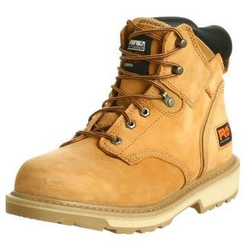 """Timberland Men's Pit Boss 6"""" Soft Toe Work Shoes, Gaucho Oiled Full Grain,11.5 W US"""