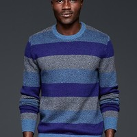 Gap Men Herringbone Stripe Sweater