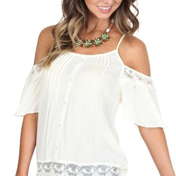 Enchanted Lace Top