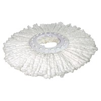 Hurricane Spin Mop Replacement Head (White)