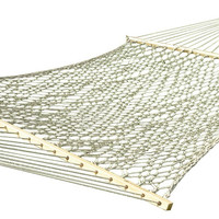 Vivere COT21 Cotton Rope Hammock - Double (Natural)