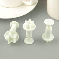 Cake Cookie Fondant Sugarcraft Decorating Plunger Cutter Mold Mould Tool JT32