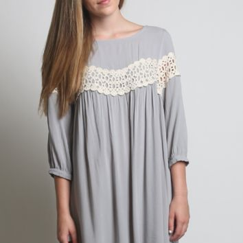 Kori America Peak of Lace Dress