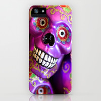 Day of the Dead iPhone & iPod Case by Ann B.