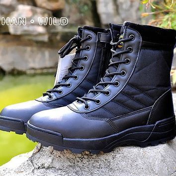 Tactical Boots Military Desert SWAT American Combat Boots Outdoor Shoes Breathable Wearable Boots Hiking desert boots
