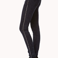 Grunge Life Spiked Skinny Jeans