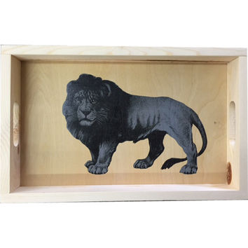 Lion Serving Tray