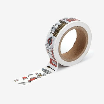 Deco 0.59X11yd single masking tape - London