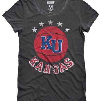 Kansas Jayhawks Basketball Women's T-Shirt