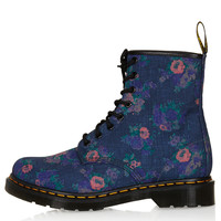 DM Floral Print Boots - New In This Week - New In - Topshop USA