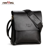 POLO Famous Brand Classic Design Leather Mens Messenger Bags Promotional Casual Business Man Bags Shoulder Bag Briefcase FB2061