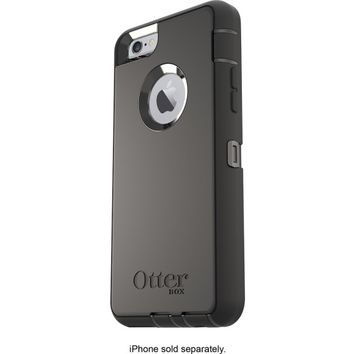 OtterBox - Defender Case for Apple® iPhone® 6 and 6s - Black