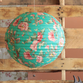 Floral Garden Lantern - $18.00: ThreadSence, Women's Indie & Bohemian Clothing, Dresses, & Accessories