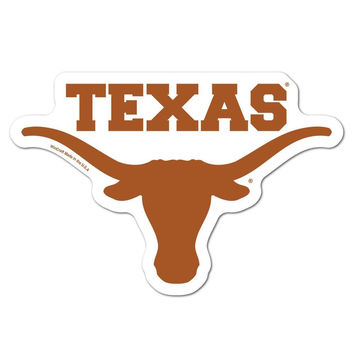 Texas Longhorns NCAA Automotive Grille Logo on the GOGO