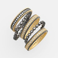 Women's Freida Rothman 'The Standards' Stackable Rings (Set of 5)