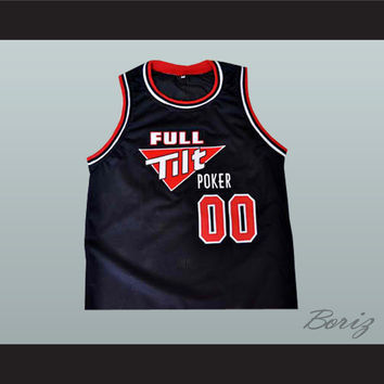 Full Tilt Poker Customized Jersey Your Name and Your Number