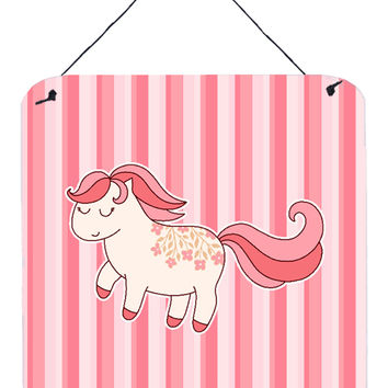 Little Pink Pony Wall or Door Hanging Prints BB7060DS66