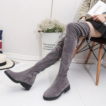 Hot Deal On Sale Skinny Winter Boots [11192812871]