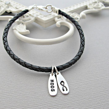Mdds Awareness, Mdds Jewelry, Unisex Bracelet, Awareness Jewelry, Custom Bracelet, Personalized Jewelry, Sterling Silver