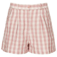 Gingham Shorts - Pink