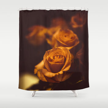 The gentleman Shower Curtain by HappyMelvin