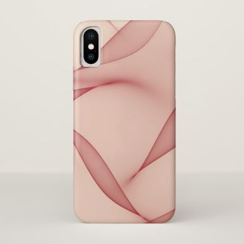 Abstract Leaves iPhone X case