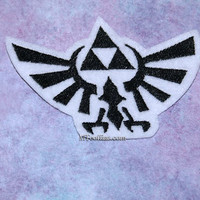 Legend of Zelda TriForce Eagle Iron On Embroidery Patch MTCoffinz