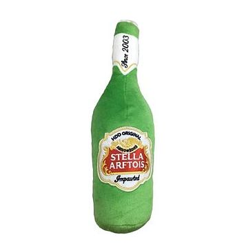 Stella Arftois Plush Dog Toy