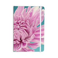 "Nastasia Cook ""Purple Dream"" Pink Flower Everything Notebook"