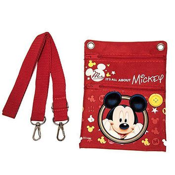 Mickey Mouse Authentic Licensed Small Multi Purpose Shoulder ID Holder Bag