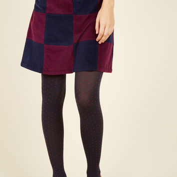 Patchwork It Out A-Line Skirt | Mod Retro Vintage Skirts | ModCloth.com
