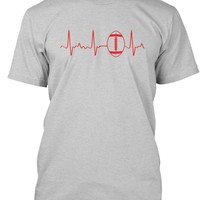 Football Heartbeat Shirt