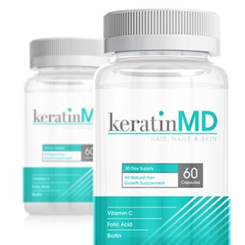 Keratin MD | 21 Days To Longer, Thicker Hair - Welcome 791