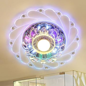 Colorful Crystal Chandelier Lighting