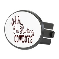 I'm Hunting Cowboys Oval Hitch Cover> I'm Hunting Cowboys> We Tees You